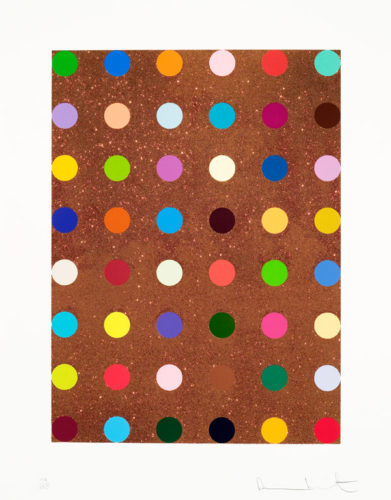Carvacrol by Damien Hirst at