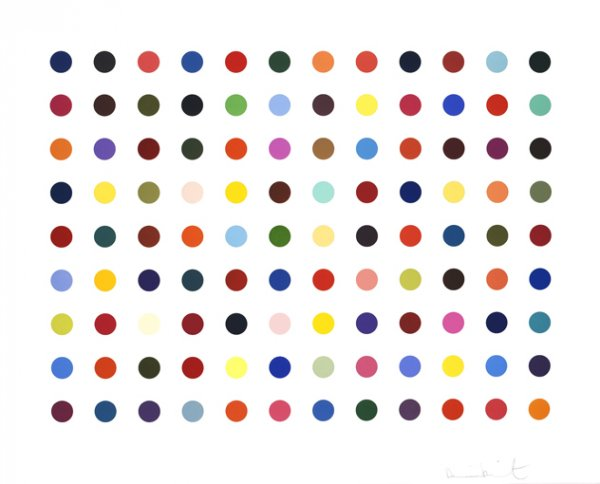 Ellipticine by Damien Hirst at Damien Hirst