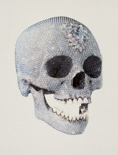 For The Love Of God (3/4) by Damien Hirst at