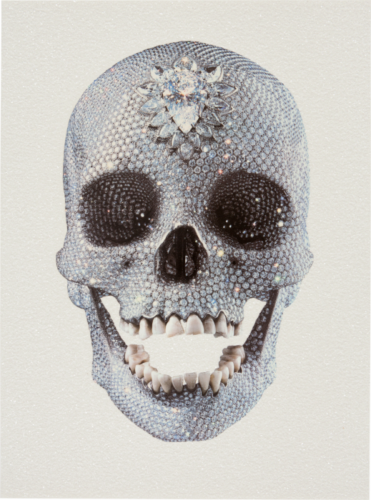 For The Love Of God (front) by Damien Hirst at