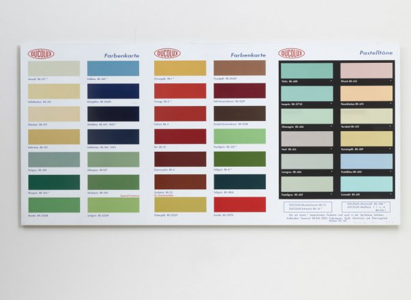H2 – Colour Chart by Damien Hirst