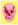 Heaven Lemon Yellow Pigment Pink Chilli Red Pop Skull by Damien Hirst