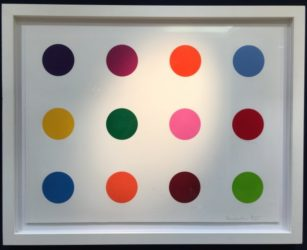 Tyloxapol by Damien Hirst at Lougher Contemporary