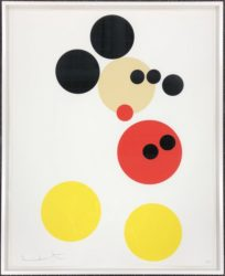 Mickey by Damien Hirst at Lougher Contemporary
