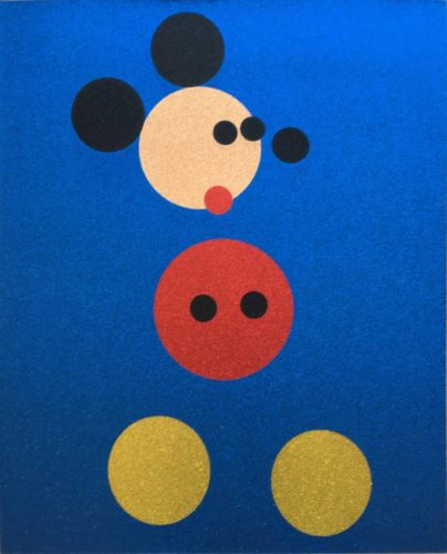 Mickey by Damien Hirst at Hamilton-Selway Fine Art