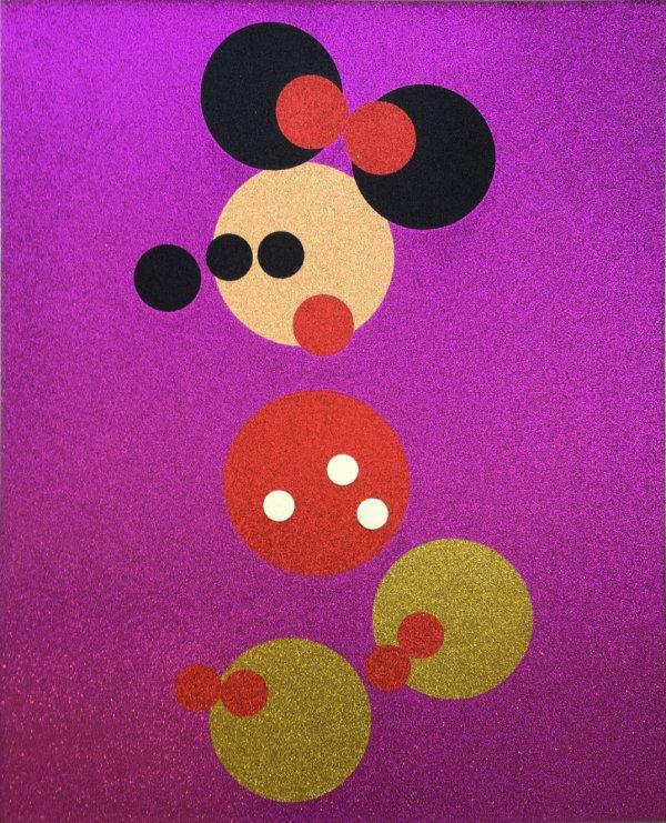 Minnie by Damien Hirst