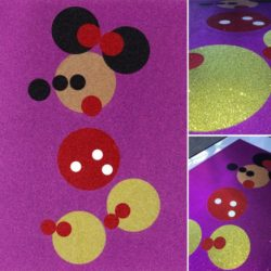 Minnie (pink Glitter) – Small by Damien Hirst at Lougher Contemporary