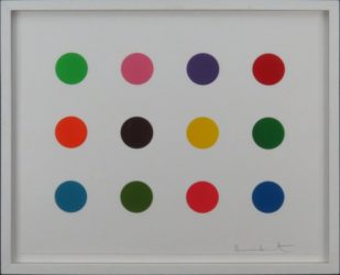 Perillartine by Damien Hirst at Lougher Contemporary