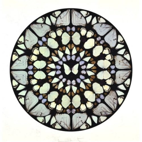 Psalm: Benedictus Dominus (with Diamond Dust) by Damien Hirst