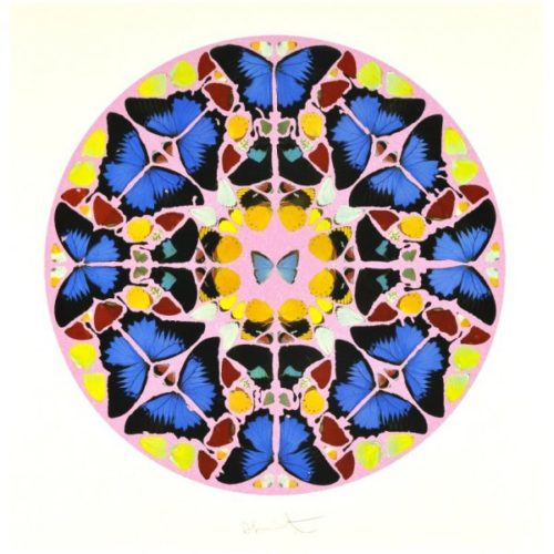 Psalm: Coeli Enarrant (with Diamond Dust) by Damien Hirst