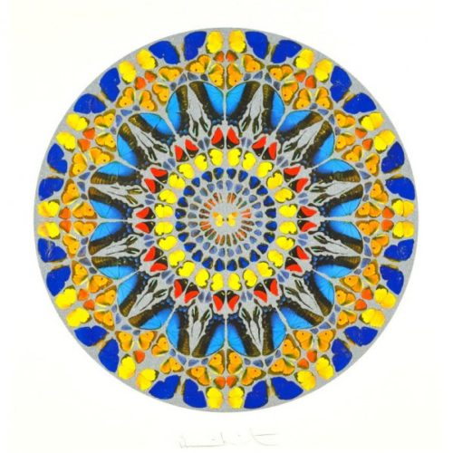 Psalm: Confitebor Tibi (with Diamond Dust) by Damien Hirst