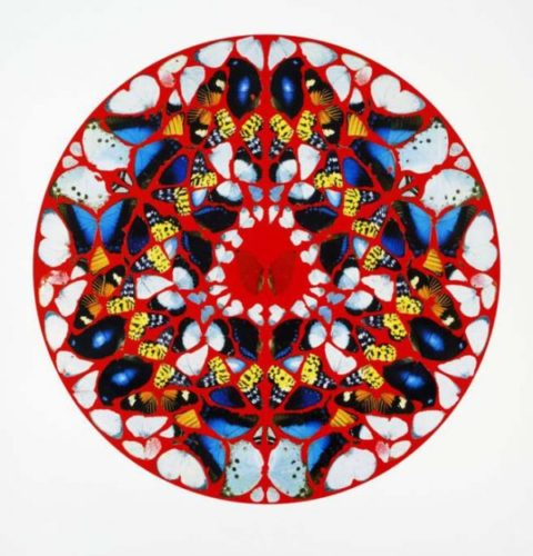 Psalm Print: Domine, Ne In Furore by Damien Hirst