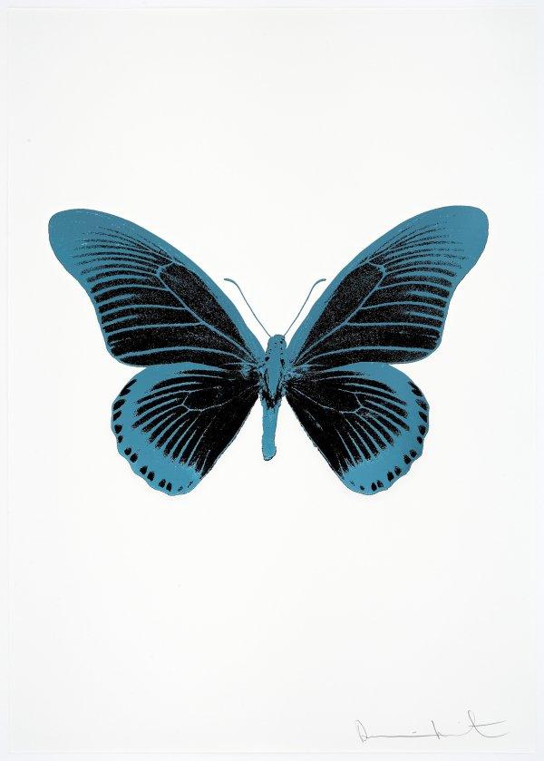 The Souls Iv – Raven Black/topaz/topaz by Damien Hirst