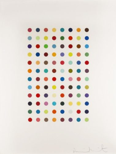 Xylene Cyanol Dye Solution 2005 by Damien Hirst at Fine Art Mia