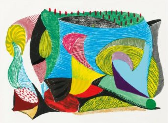 Above & Beyond by David Hockney at Kenneth A. Friedman & Co.