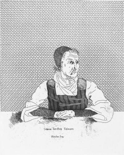 Catharina Dorothea Viehman by David Hockney