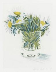 Marguerites by David Hockney at Kenneth A. Friedman & Co.