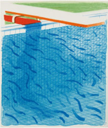 Paper Pool by David Hockney at Kenneth A. Friedman & Co.
