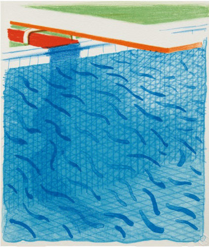 Paper Pool by David Hockney at