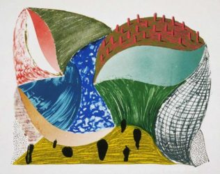 Gorge D'incre by David Hockney at Kenneth A. Friedman & Co.