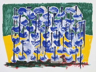 Slow Forest by David Hockney at Kenneth A. Friedman & Co.