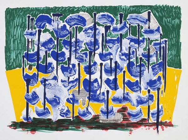 Slow Forest by David Hockney at