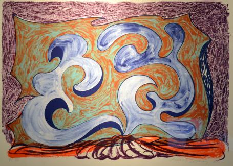 Rampant by David Hockney at