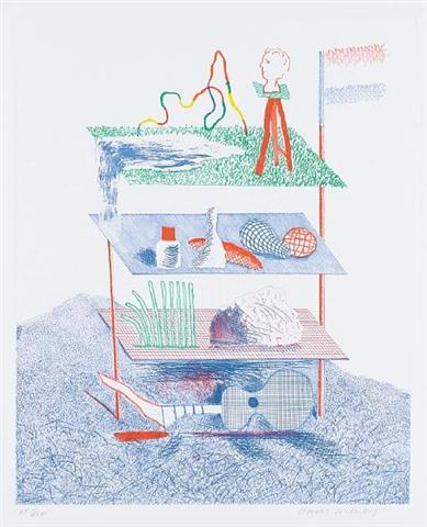 Serenade by David Hockney