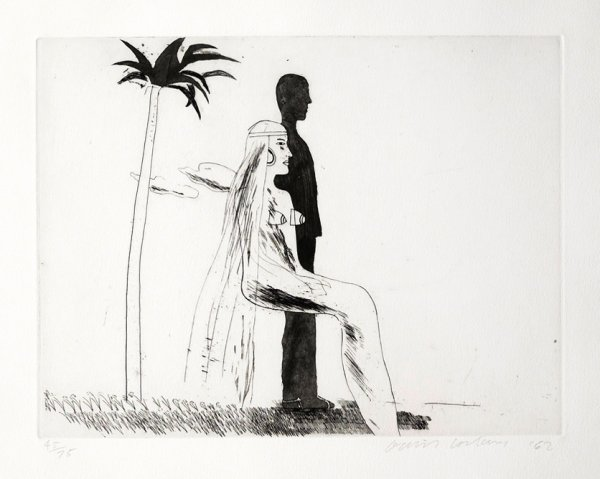 The Marriage by David Hockney at Independent Gallery