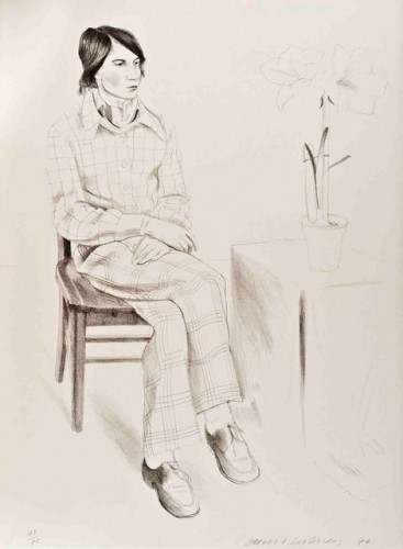 Yves Marie by David Hockney