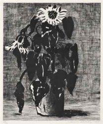 Sunflowers Ii by David Hockney at
