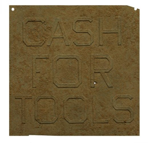 Rusty Signs – Cash For Tools 1 by Ed Ruscha