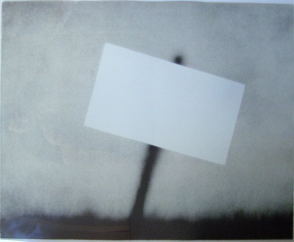 Untitled (blank Sign) by Ed Ruscha