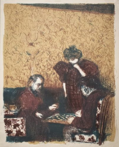 La Partie De Dames by Edouard Vuillard at