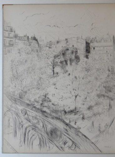 Tombeau De Edouard Vuillard by Edouard Vuillard at