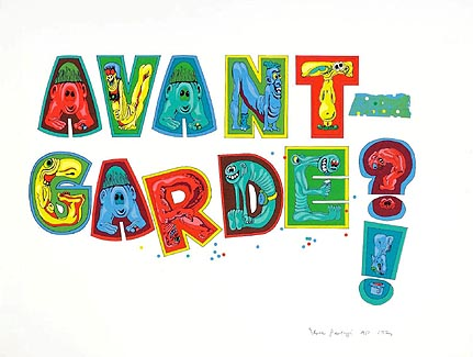 Avant-garde by Eduardo Paolozzi