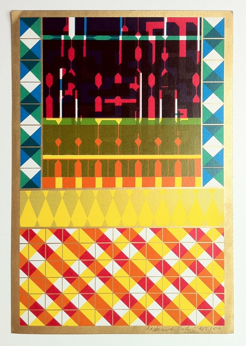 Cover For A Journal by Eduardo Paolozzi