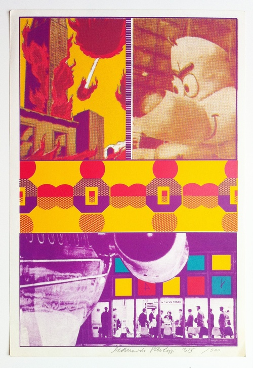 Ernie And Tt At St Louis Airport by Eduardo Paolozzi