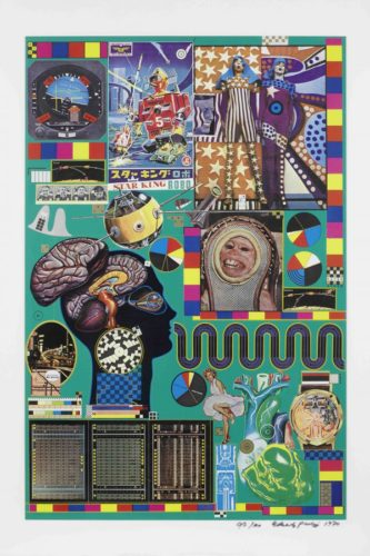 Hollywood Wax Museum by Eduardo Paolozzi at