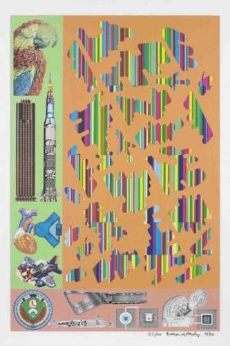 Human Fate And World Powers by Eduardo Paolozzi at
