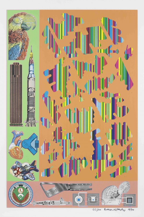 Human Fate And World Powers by Eduardo Paolozzi