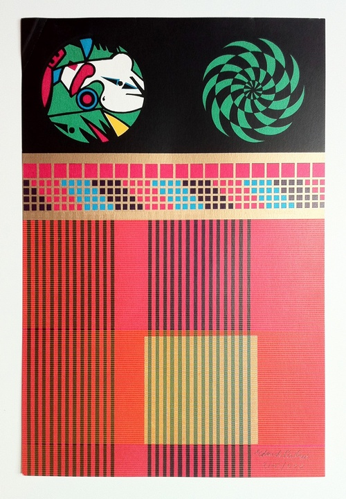 Memory Core Units by Eduardo Paolozzi
