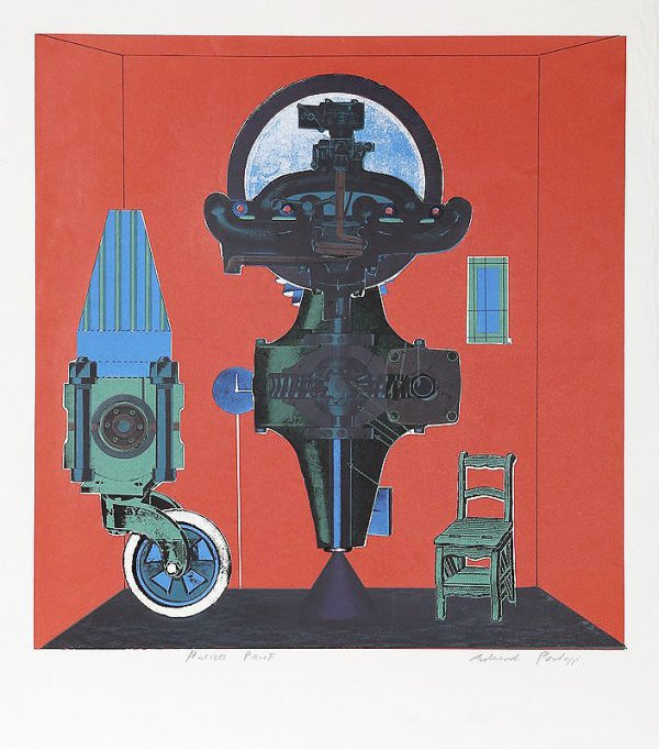 Metallization Of A Dream by Eduardo Paolozzi