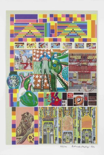 Pacific Standard Time by Eduardo Paolozzi