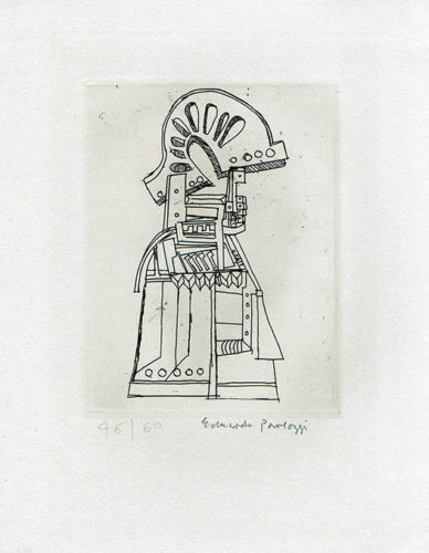 Untitled (study For A Sculpture) by Eduardo Paolozzi