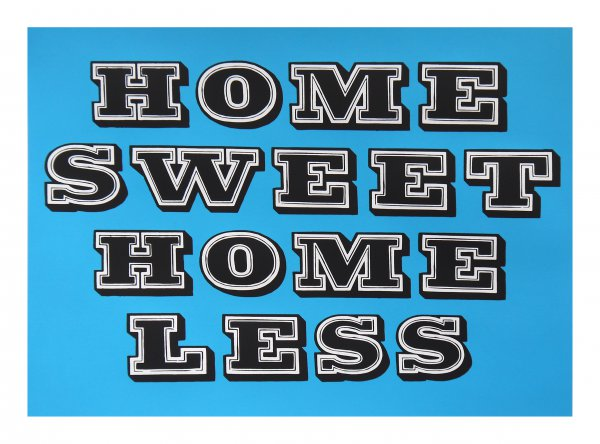 Home Sweet Homeless – Electric Blue by Eine at