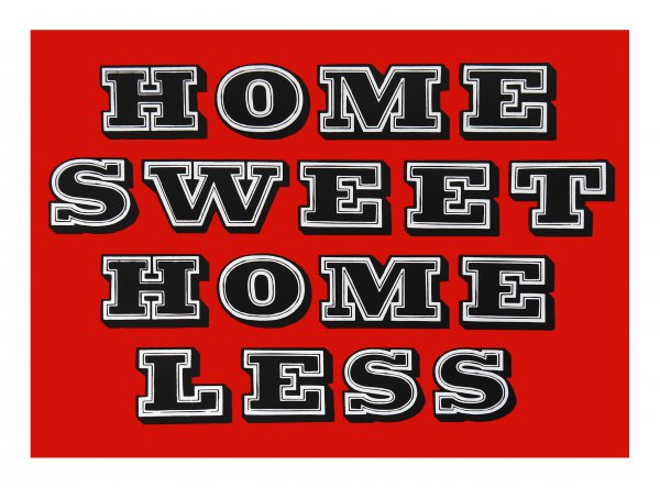 Home Sweet Homeless – Scary Red by Eine at