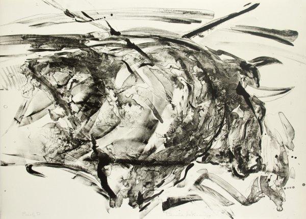 Taurus Xiv, Proof D by Elaine De Kooning