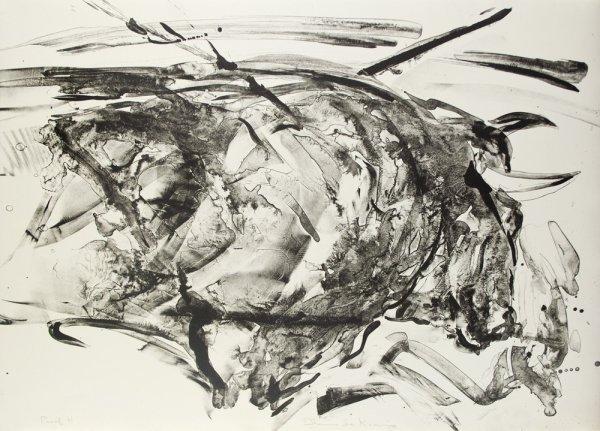 Taurus Xiv, Proof H by Elaine De Kooning