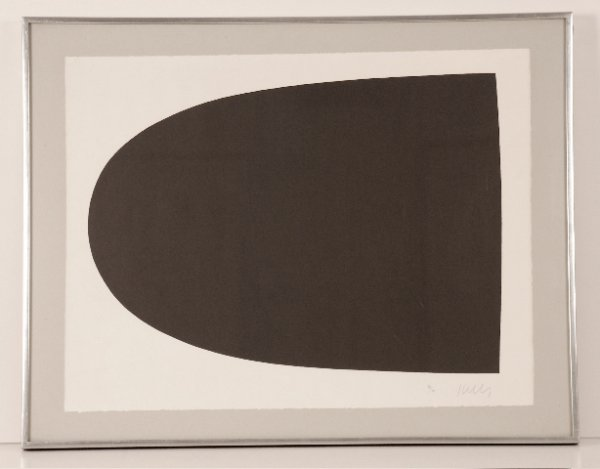 Black Form by Ellsworth Kelly
